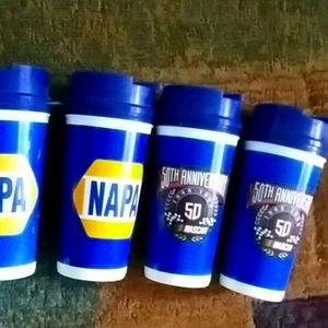 NASCAR 50th Anniversary Napa mugs
